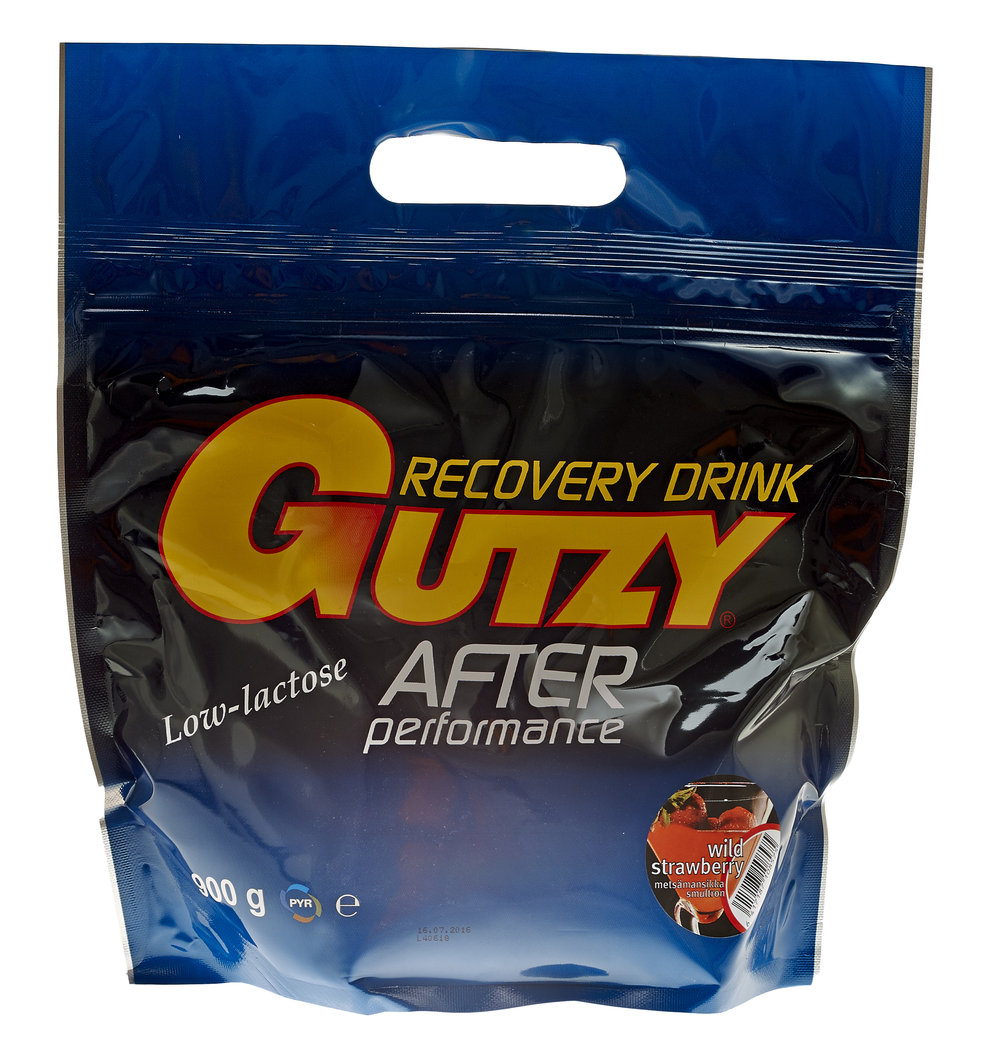 Gutzy Recovery Drink Mansikka 900g