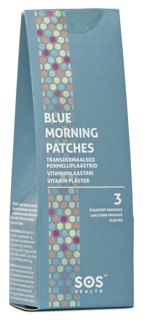 SOS Health Blue Morning vitamiinilaastari